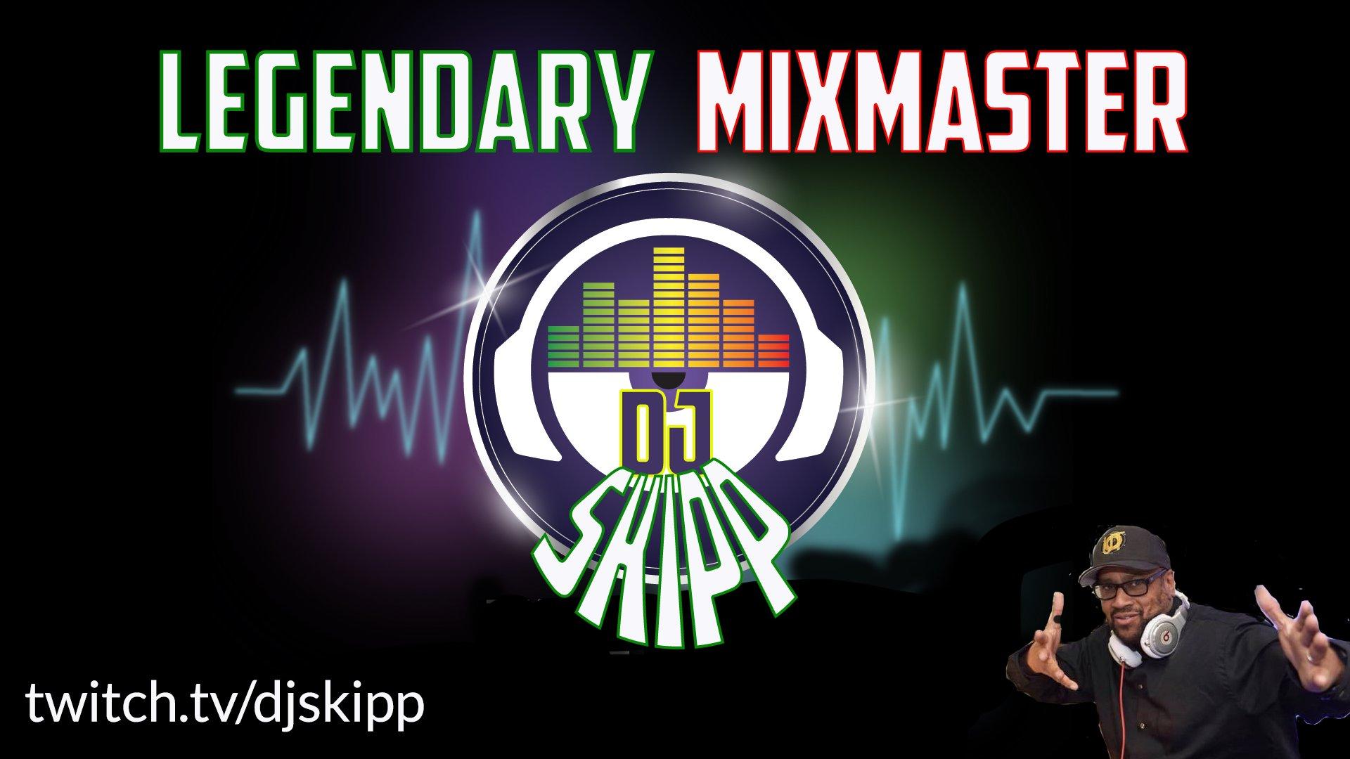 Twitch stream of DJSkipp