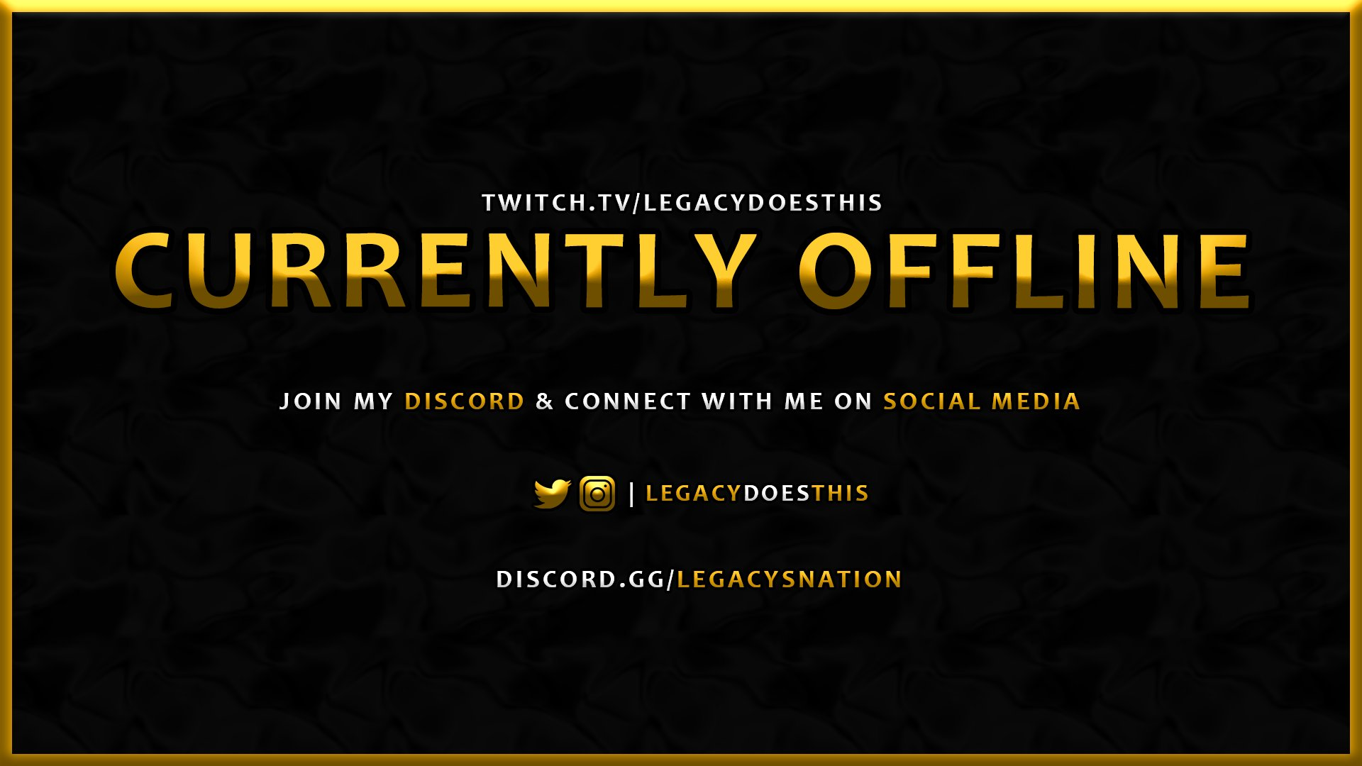 Twitch stream of LegacyDoesThis