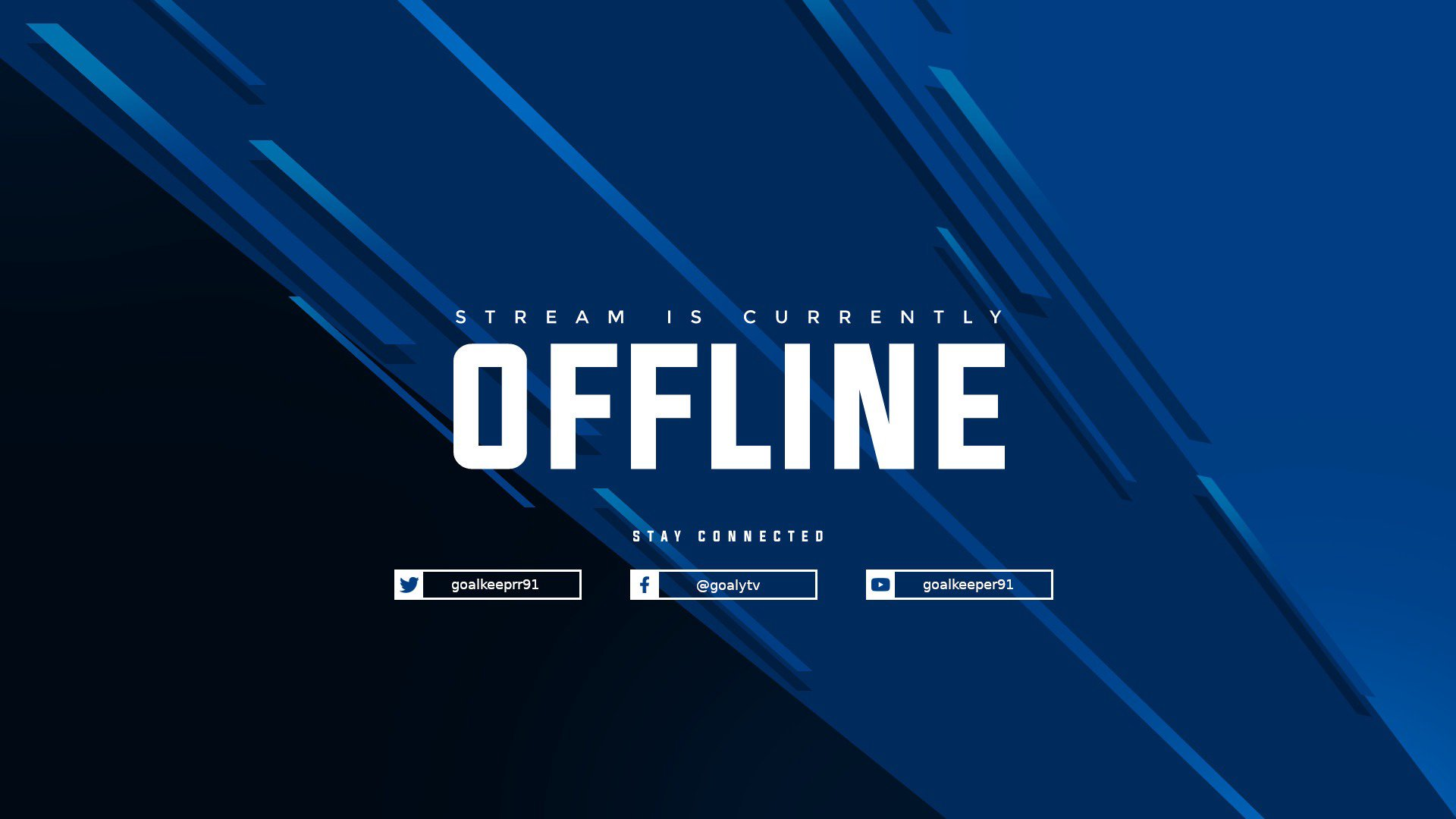 Twitch stream of goalkeeper91