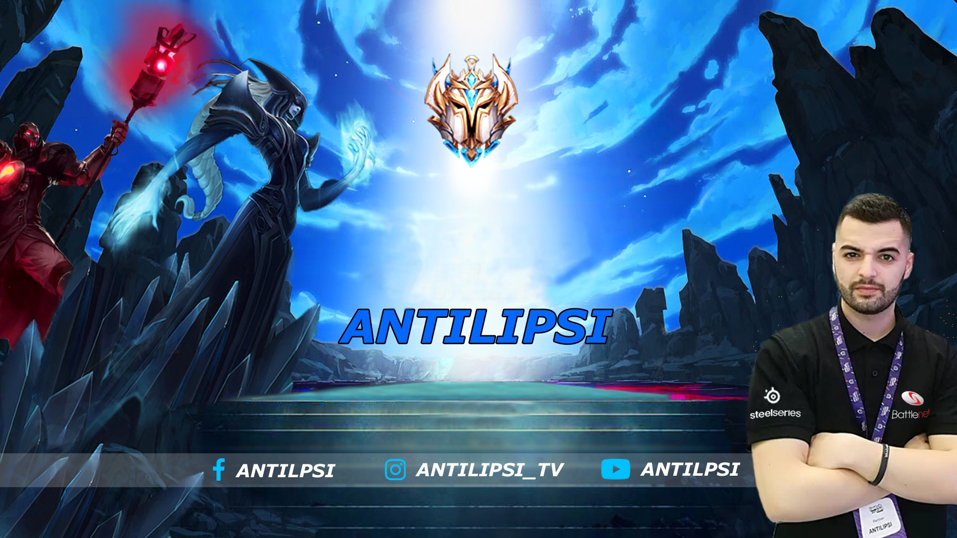 Twitch stream of ANTILIPSI