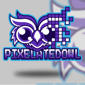 Pixelated_Owl Logo