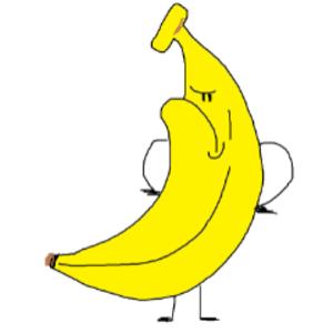 짱난바나나 Logo