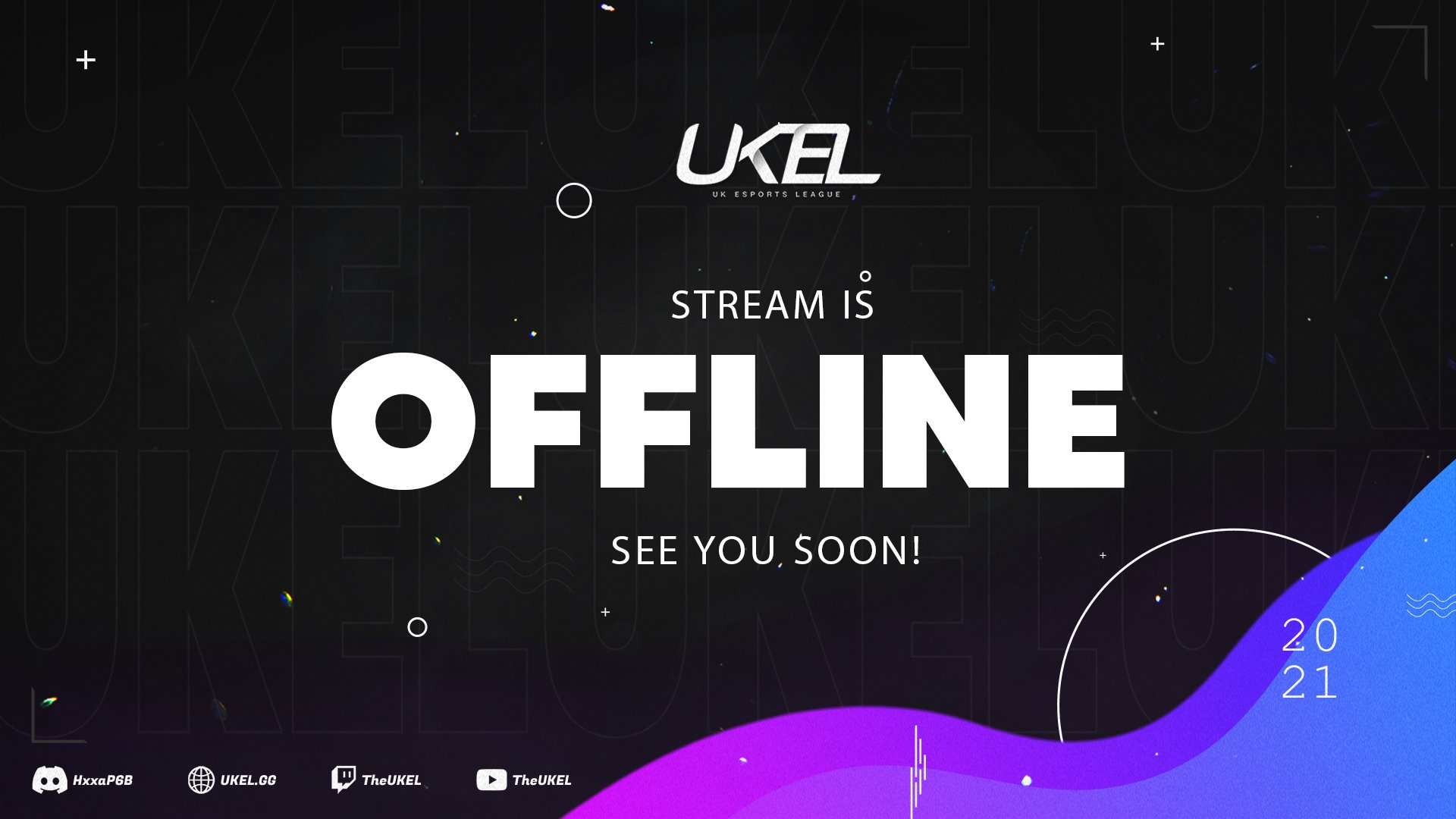 Twitch stream of TheUKEL