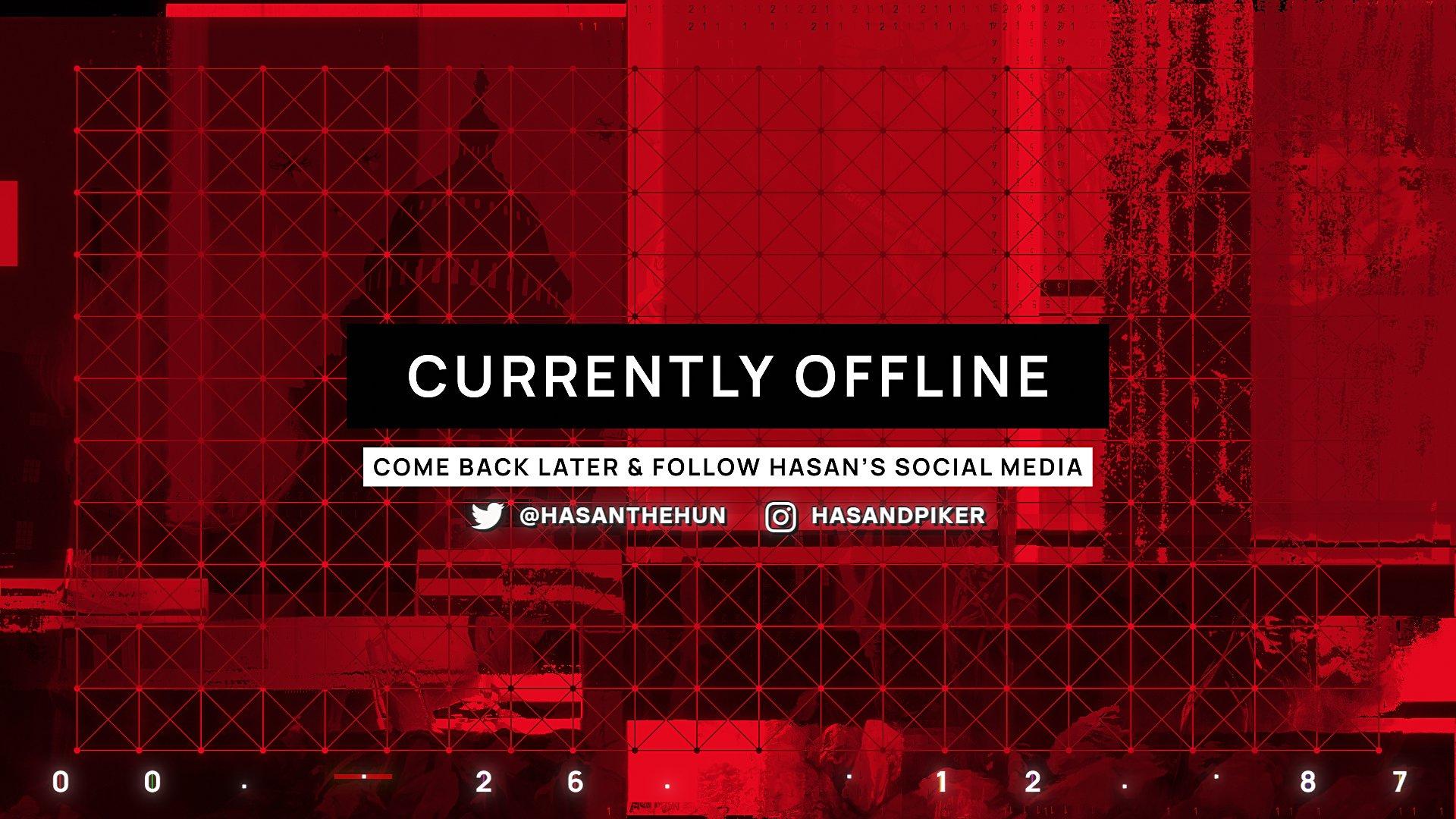 Twitch stream of HasanAbi