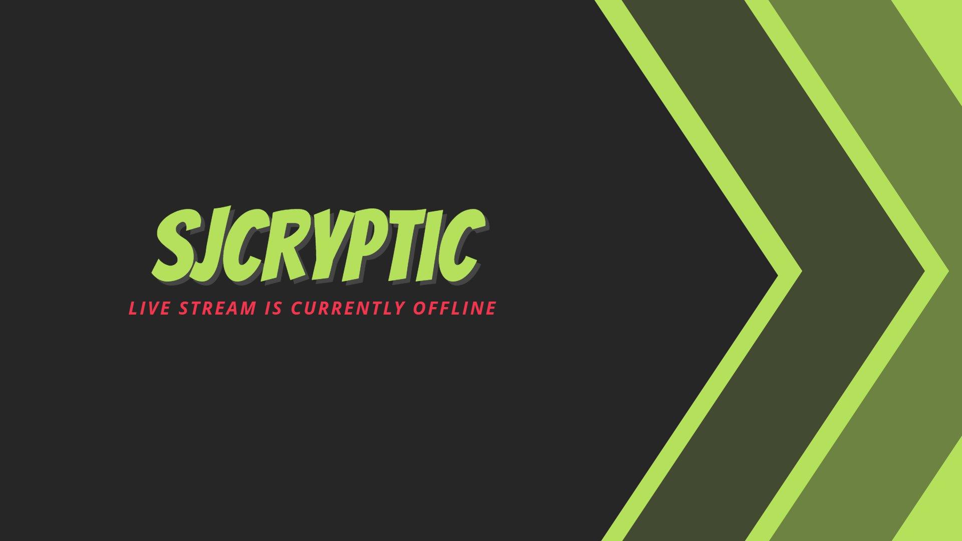 Twitch stream of SJCryptic