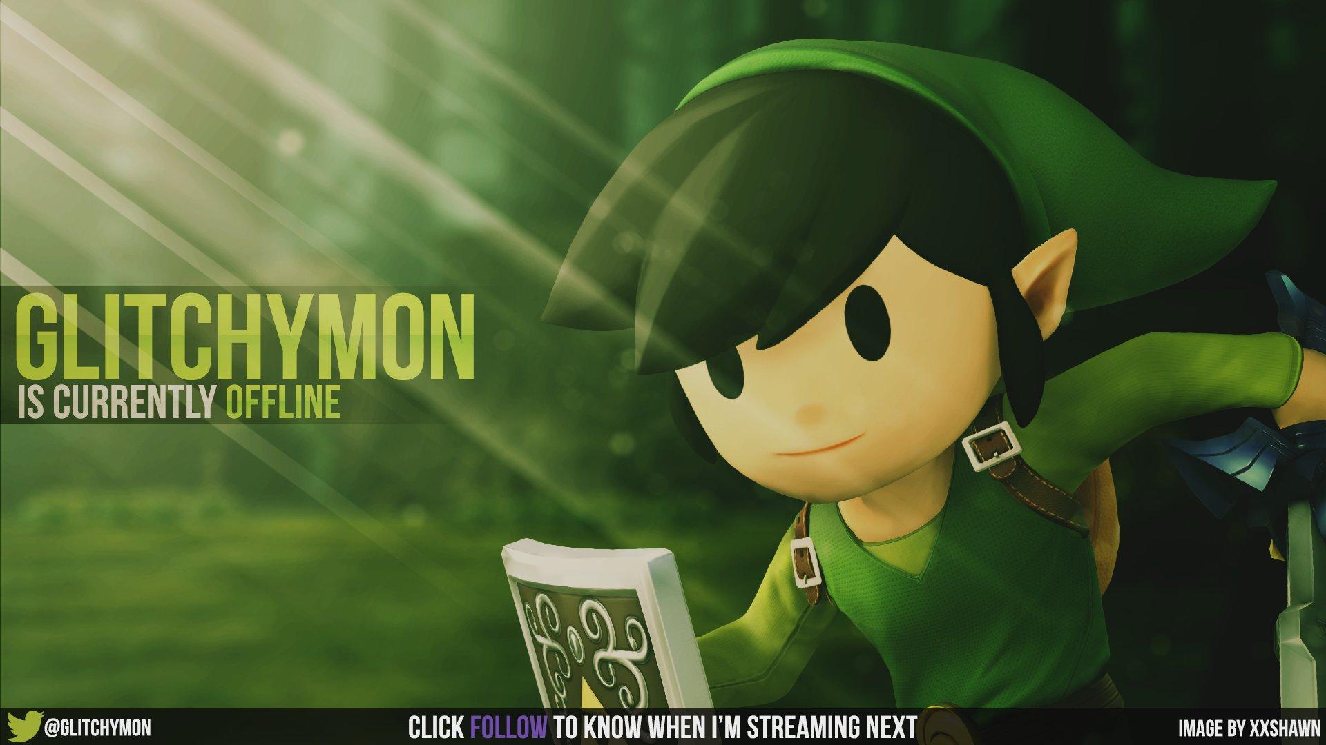 Twitch stream of Glitchymon