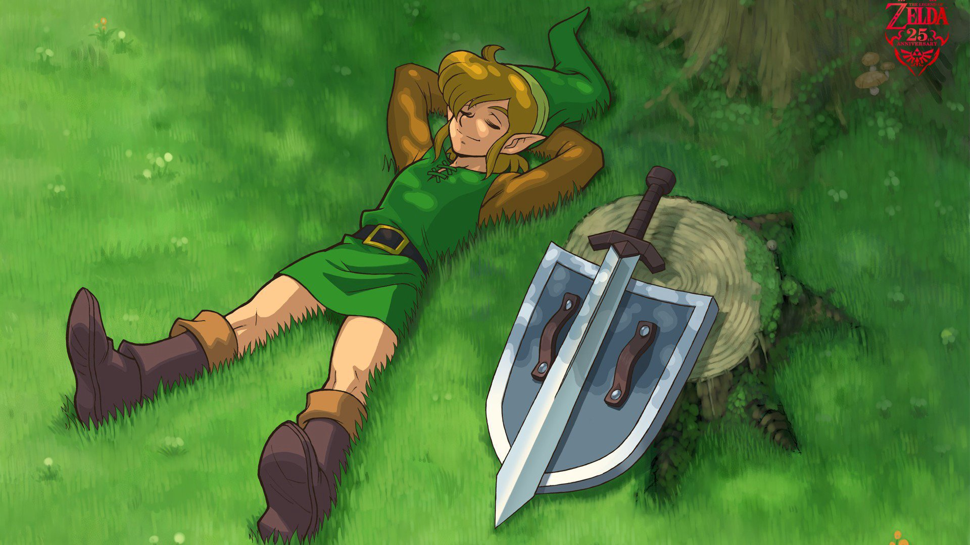 Twitch stream of Linksquest