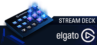 Get a Streamdeck by ElGato and up your streaming experience!