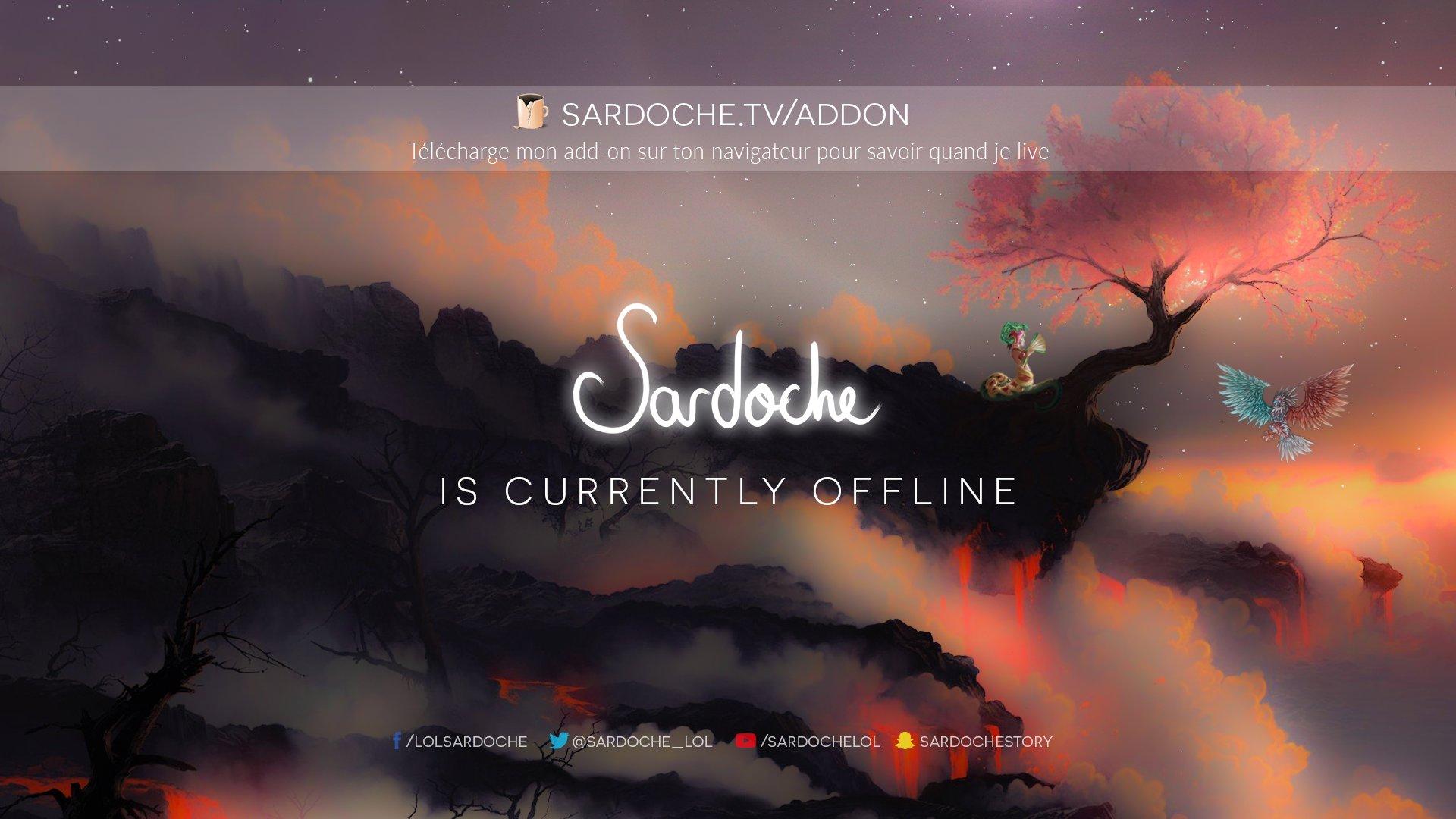 Twitch stream of Sardoche