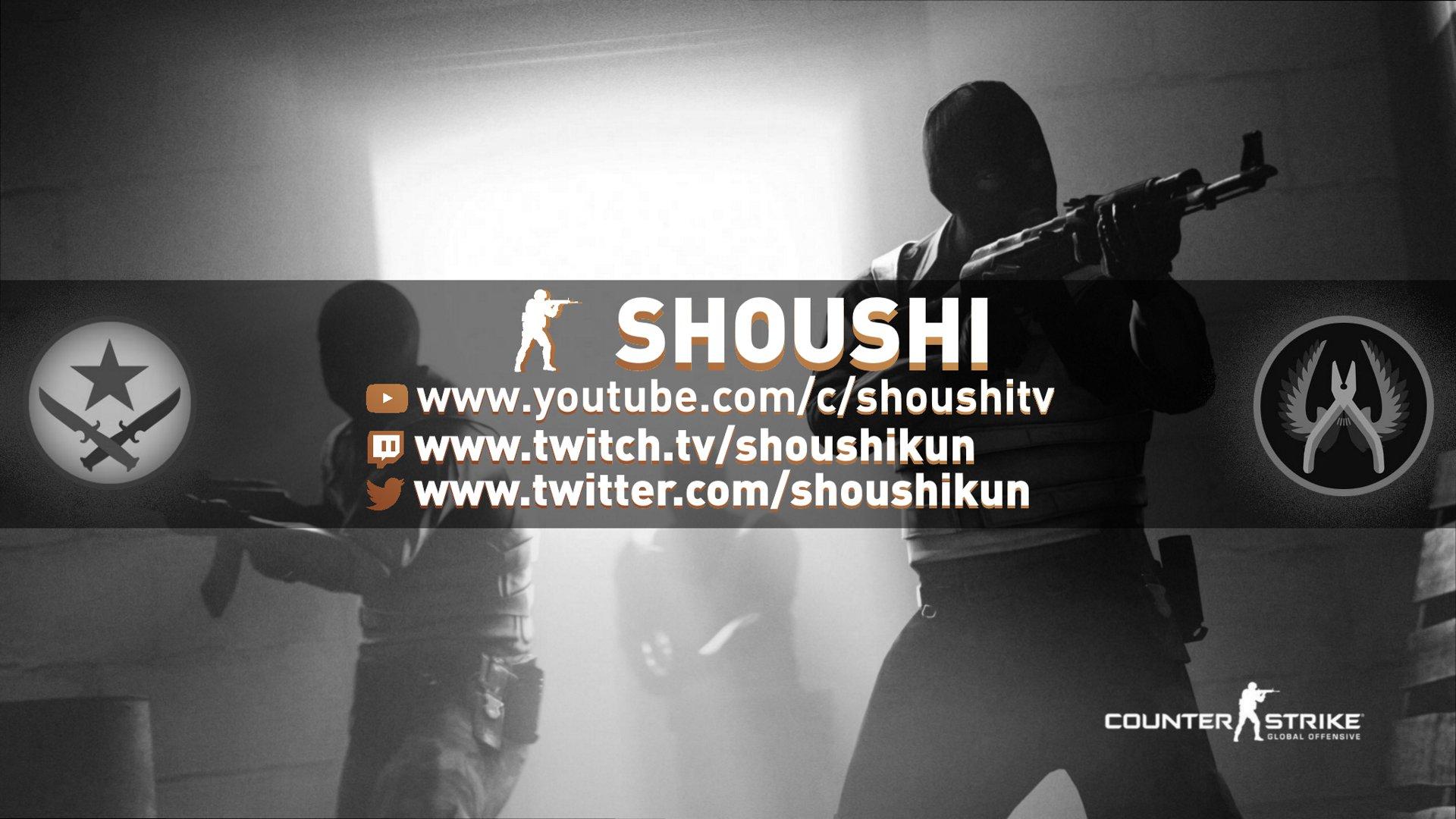 Twitch stream of shoushikun