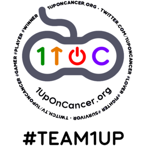 Team 1UpOnCancer Twitch team avatar