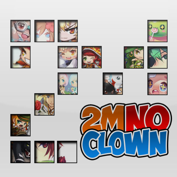 2m 2m No Clown Twitch team avatar
