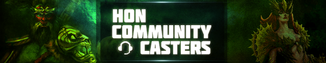 HoN Community Casters