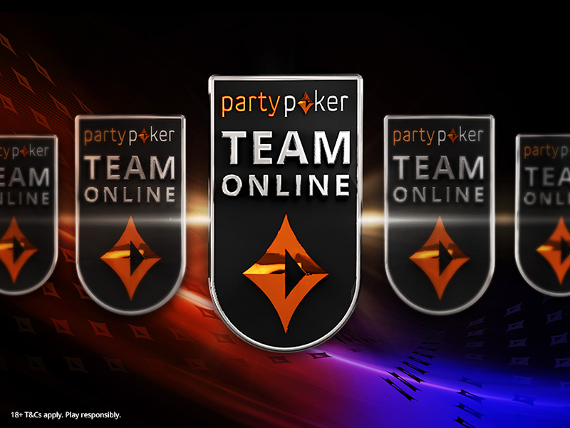 View stats for partypoker Team Online