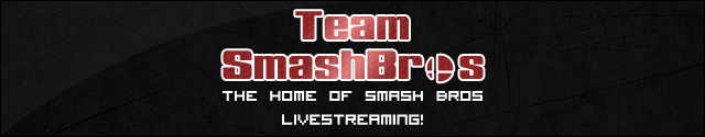 Team Smashbros: The Home of Smash Bros Livestreaming!