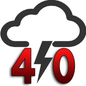 Weathers40 Logo