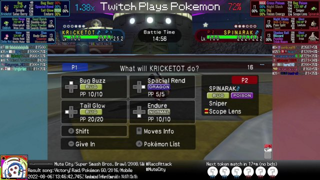 twitch plays pokemon battle revolution betting websites