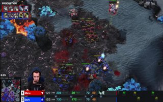 StarCraft II stream, Twitch.tv - wintergaming