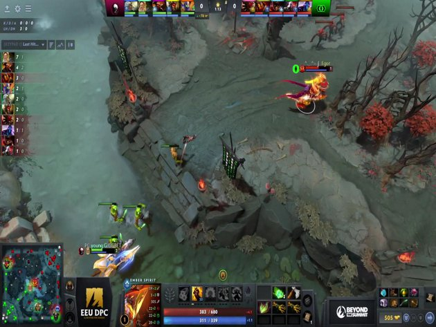 Live The International 3 East Qualifier Day 3 Group B Vici Gaming Ris