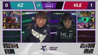 LCK Spring: GRF vs. KT - HLE vs. KZ