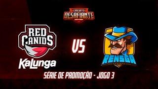 Circuito Desafiante 2019: 2ª Etapa - Série de Promoção | RED Academy x Rensga eSports (Jogo 3)