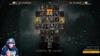 topsietegames - Mortal Kombat 11 - Scarlet Vs Baraka - MK11