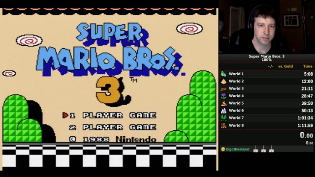 WhenChukAttacks   SMB3 100% PB [1:11:41]   Twitch