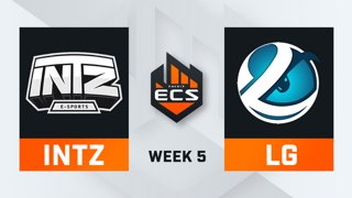INTZ vs Luminosity - Map 2 - Train (ECS Season 7 - Week 5 - DAY1)