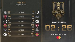 Group Stage Day 2 | 2019 Mid-Season Invitational
