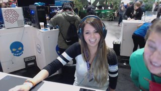 streaming from intel @ pax east