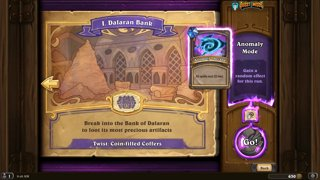 Hearthstone dungeon run with the Dalaran expansion!