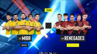 [PT-BR] MIBR vs. Renegades | ESL Pro League 2019 | Dia 14 - [Mapa 2 - TRAIN]