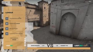 (EN) Izako Boars vs Gambit Youngsters | map 2 | Loot.bet/CS Season 3 | by @VortexKieran & @skrivcasts