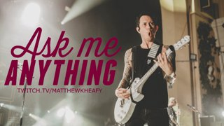 Matt Heafy (Trivium) - Ask Me Anything #1