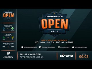 Rogue vs Fragsters - DreamHack Open Austin 2018 G.3