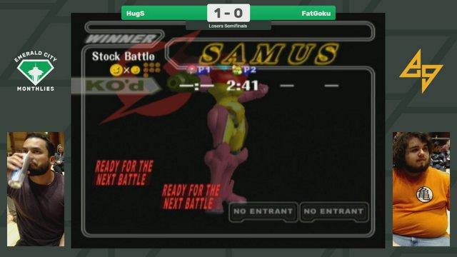 Endgametv1 Emerald City I Hugs Samus Vs Fatgoku Fox Melee