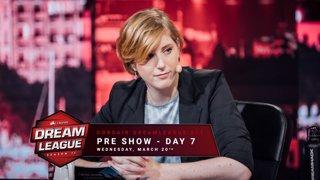 Pre show - Day 7 - CORSAIR DreamLeague S11 - The Stockholm Major