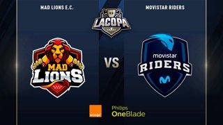 MAD LIONS E.C. VS MOVISTAR RIDERS | PARTIDO 2 | SEMIFINAL | #COPACSGOSEMIS