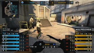 CS:GO - Grayhound vs. Chiefs [Overpass] Map 2 - Group B - ESL Pro League Season 9 APAC