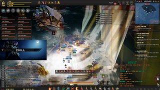 !Seizure Warning Black Desert , 1st encounter with Bell (sea world boss)
