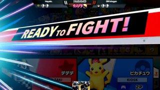 Umebura SP4 SSBU - Geki | ZAKI (Dedede) Vs. Kiosk (Pikachu) Smash Ultimate Tournament Pools
