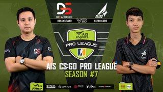 AIS CS:GO Pro League Season#7 R.4  DreamSeller vs. Astro  MAP1 INFERNO