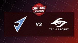 J.Storm vs Team Secret - Game 1 - Playoffs - CORSAIR DreamLeague S11 - The Stockholm Major