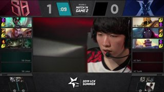 JAG vs. GEN - SKT vs. AF | Week 8 Day 3 | LCK Summer Split (2019)