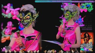 🔴Bodypainting Green Goblin💚 Thank you for renewing your gifted sub for the $1 💚