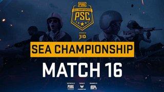 [PSC] [TH] JIB PUBG SEA Championship Phase 3  Game 16