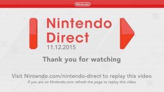 Nintendo Direct 11.12.2015