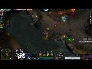 видео: Типичная ситуация, 4 минута игры, мид