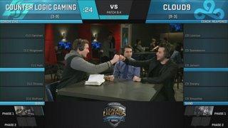 NA LCS Lounge: Cloud9 vs. Counter Logic Gaming