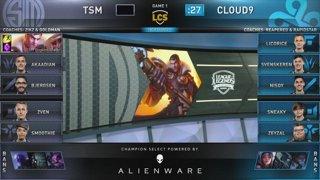 C9 vs TSM   Semifinals Day 1